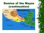 demise of the mayas continuation35