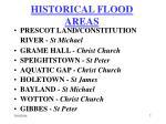 historical flood areas