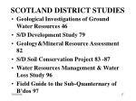 scotland district studies