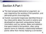 section a part 11