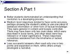 section a part 12