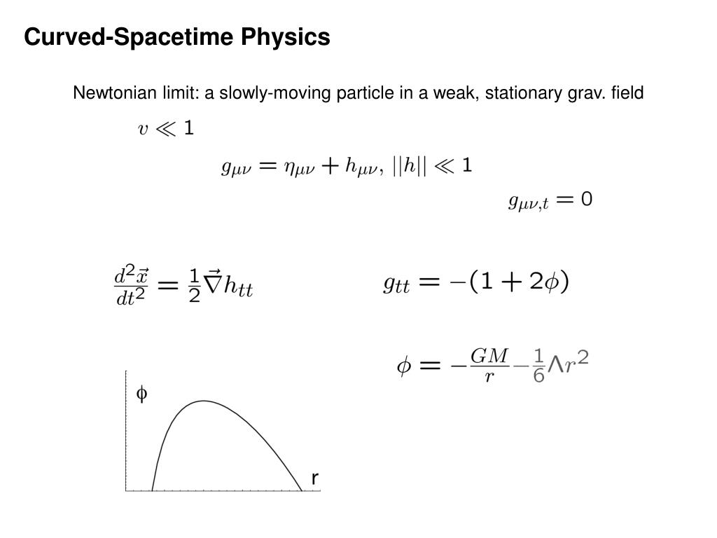 Curved-Spacetime Physics
