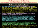 the beginning and the big bang in the beginning god created the heavens and the earth genesis 1 1
