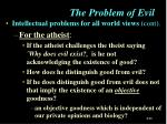 the problem of evil2