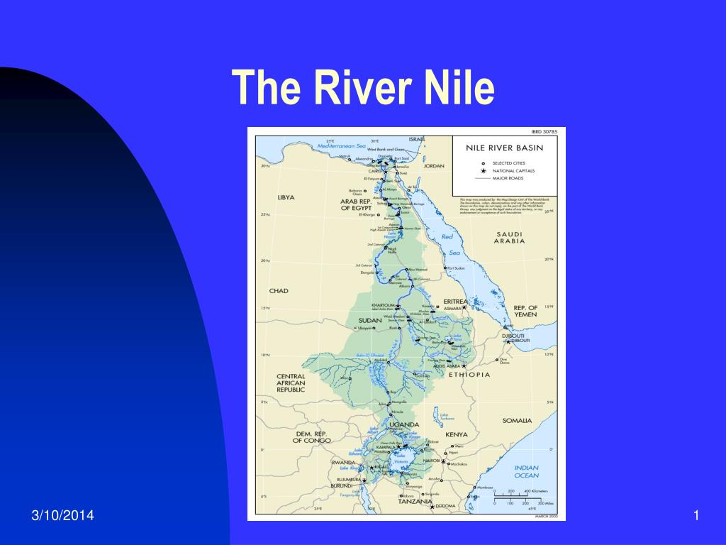 the river nile l.