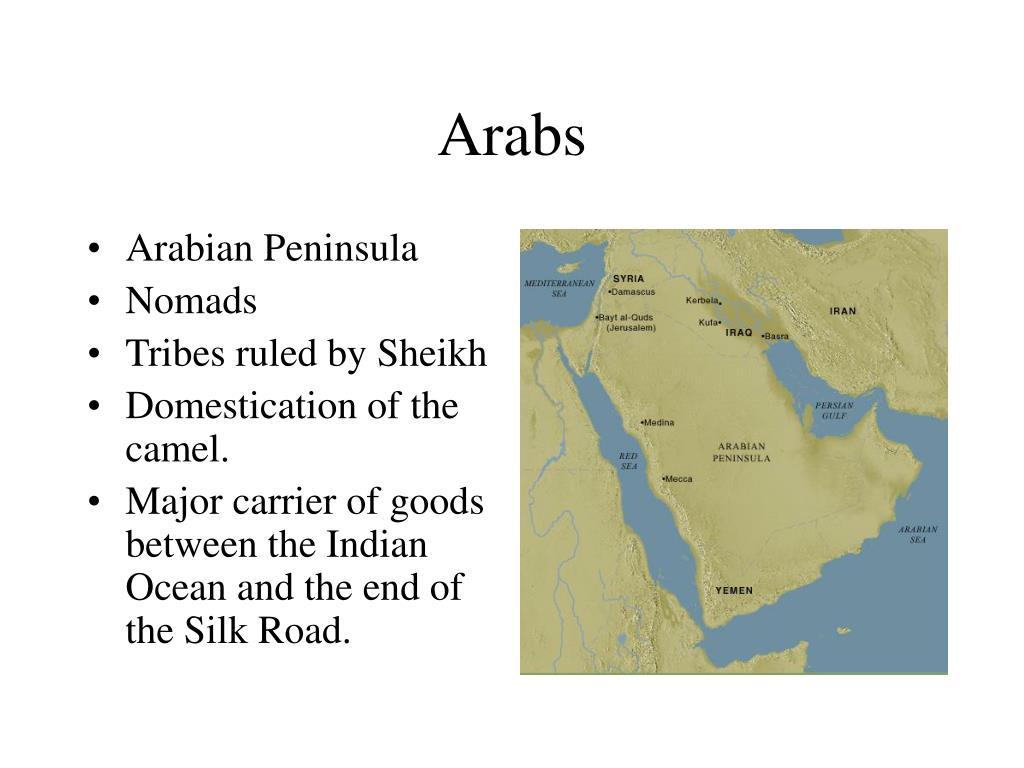 Arabs