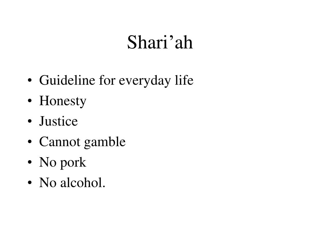 Shari'ah
