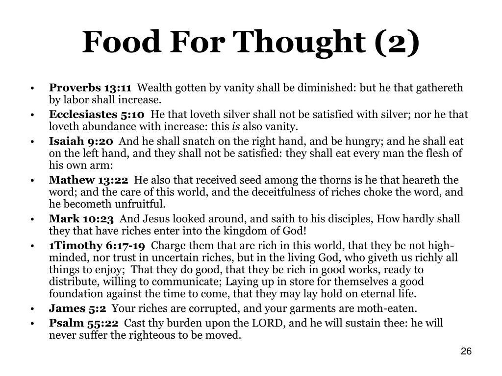 Food For Thought (2)