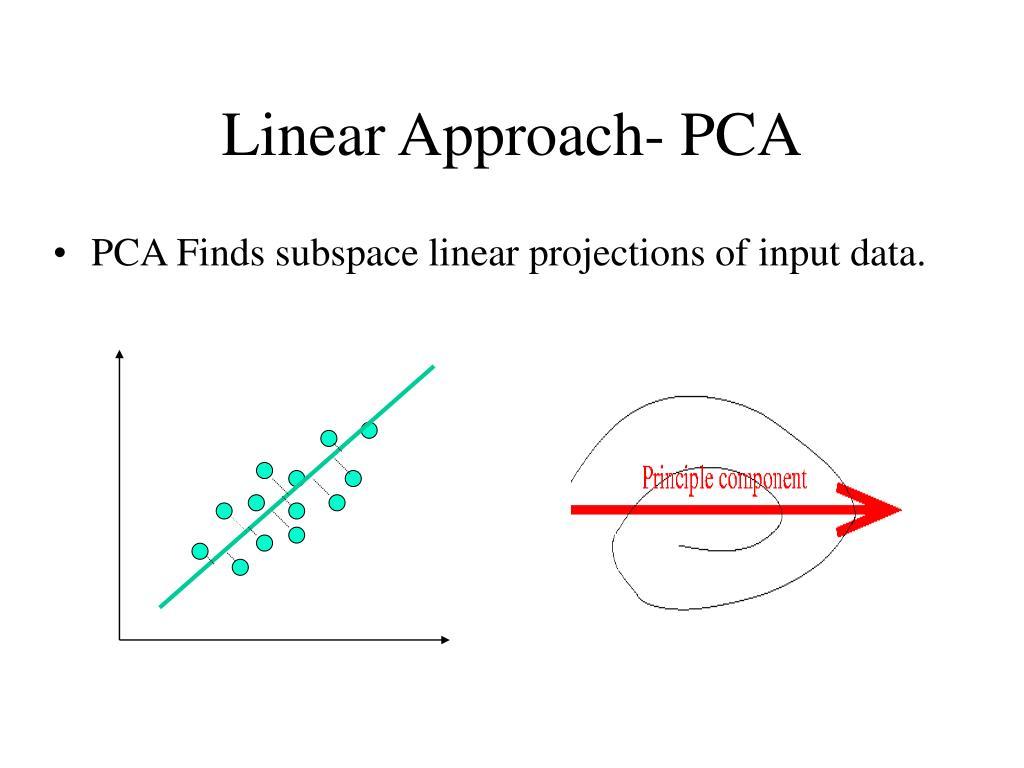 Linear Approach- PCA