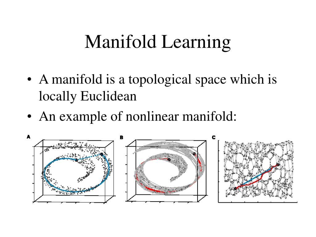 Manifold Learning
