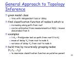 general approach to topology inference