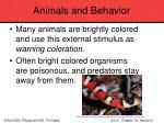 animals and behavior76