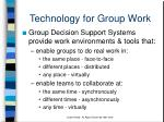 technology for group work