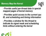 memory map the kernel