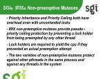 sgi irix non preemptive mutexes