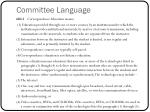 committee language15