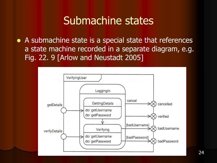 Submachine states