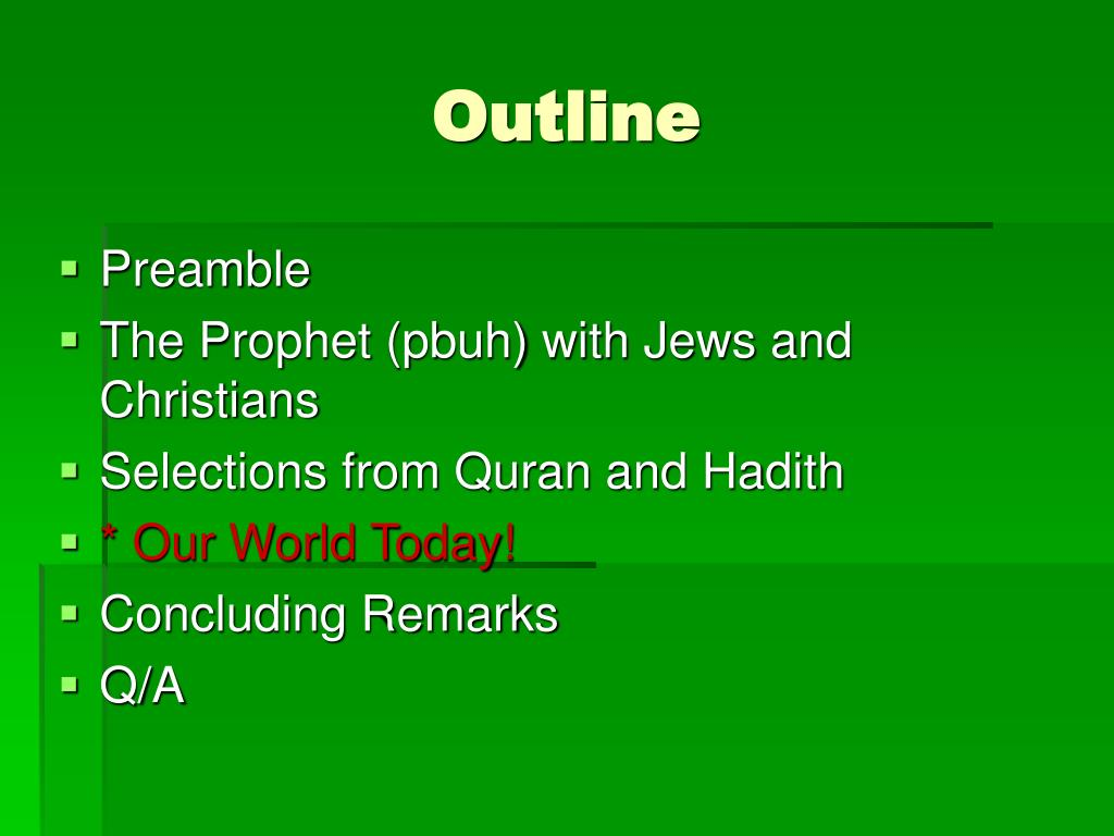 PPT - Human Relations in Islam PowerPoint Presentation - ID