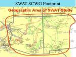 swat scwg footprint