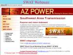 swat webpage