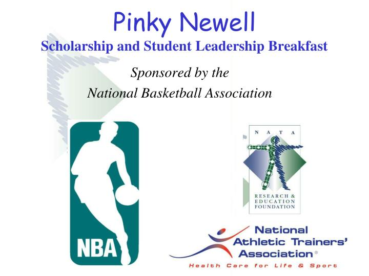 pinky newell scholarship and student leadership breakfast n.