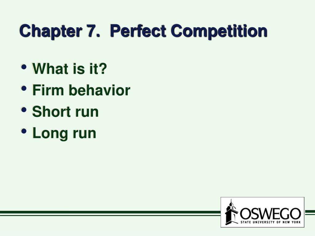 chapter 7 perfect competition l.
