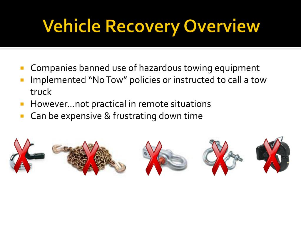 Vehicle Recovery Overview