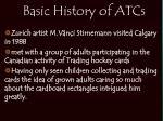 basic history of atcs