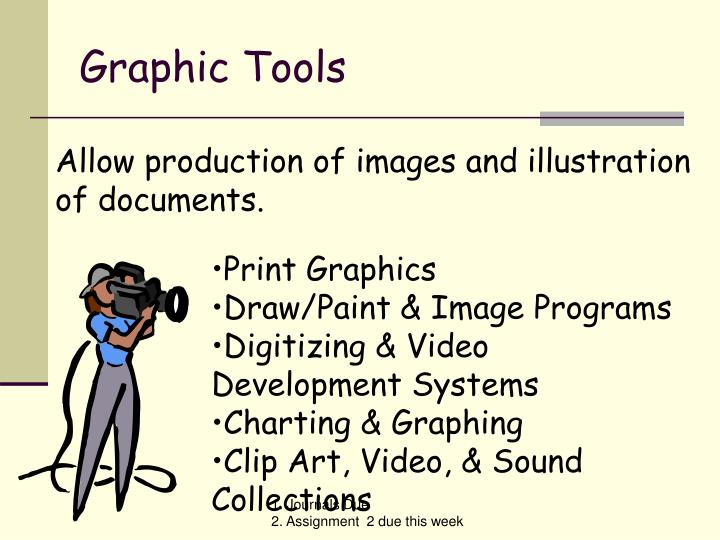 Graphic Tools