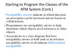 starting to program the classes of the atm system cont59
