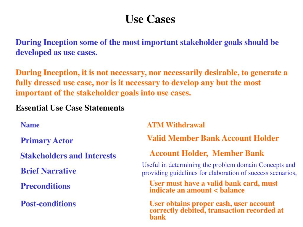 Use Cases