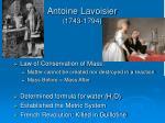 antoine lavoisier 1743 1794
