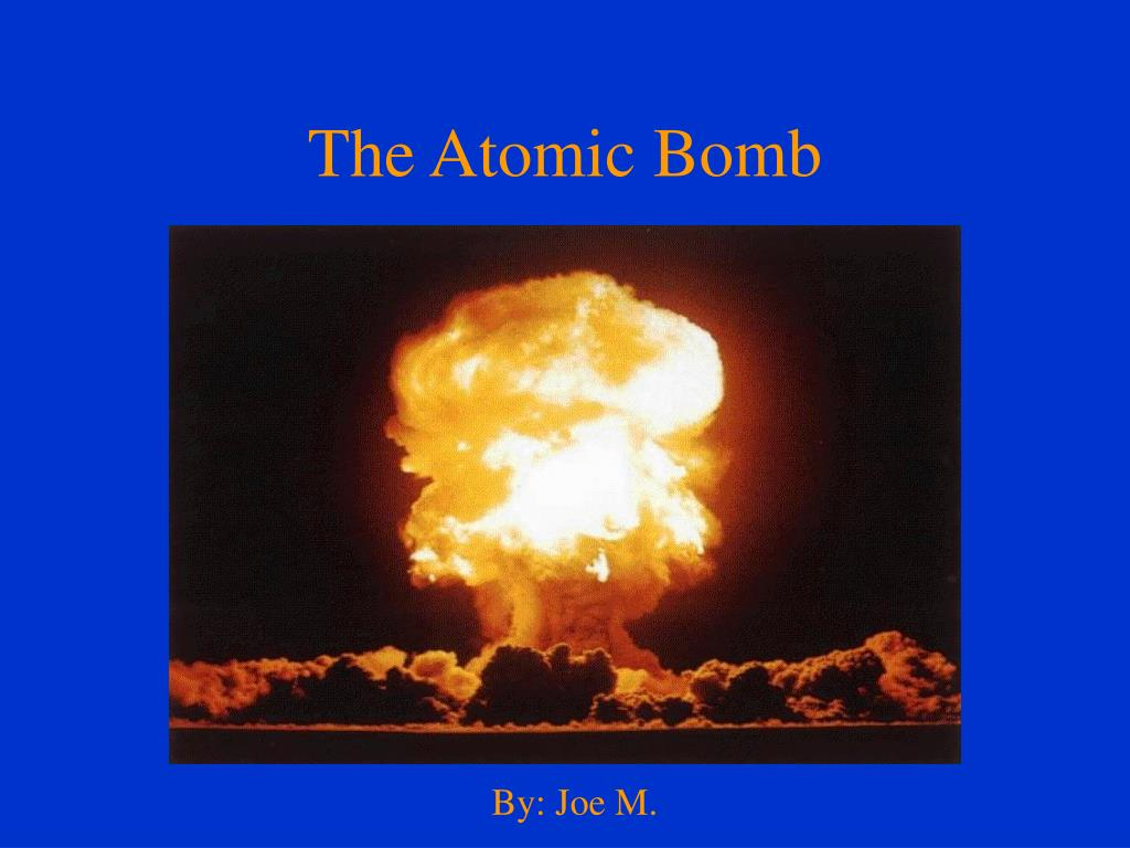 a history of the development of the atomic bomb Atomic archive — explore the history, science, and consequences of the atomic bomb there is so much information at this site biographies, photographs, current nuclear data, fission and fusion, a timeline, that it's hard not to find what you are looking for at the atomic archive.