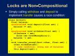locks are non compositional9