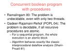 concurrent boolean program with procedures38