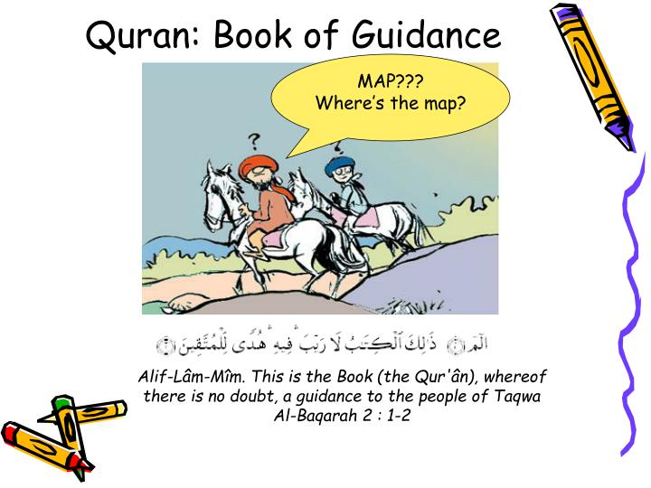 Quran book of guidance