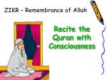 zikr remembrance of allah