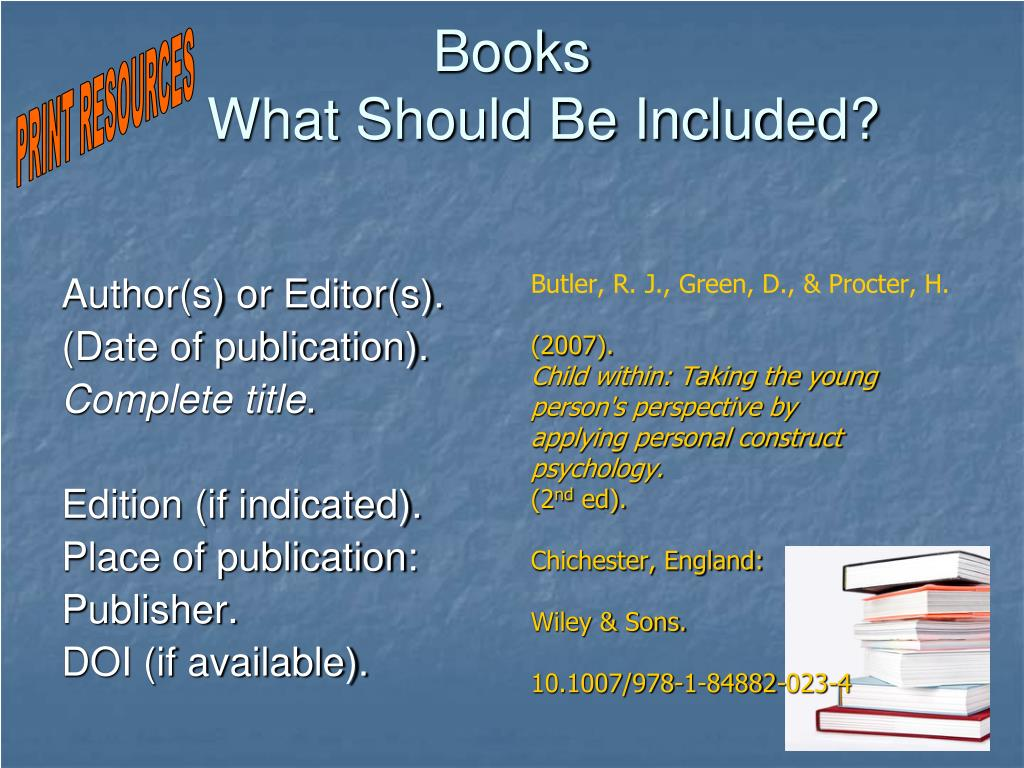 Author(s) or Editor(s).