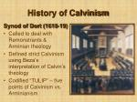 history of calvinism26