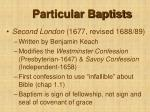 particular baptists14