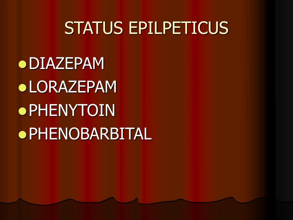 STATUS EPILPETICUS