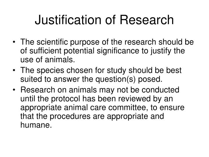 Justification of research3