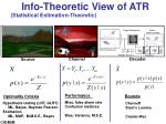 info theoretic view of atr