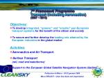 7 th framework programme transport including aeronautics 2007 2013