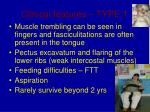 clinical features type 120