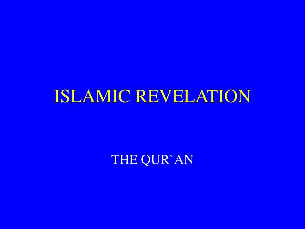 islamic revelation l.