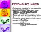 transmission line concepts