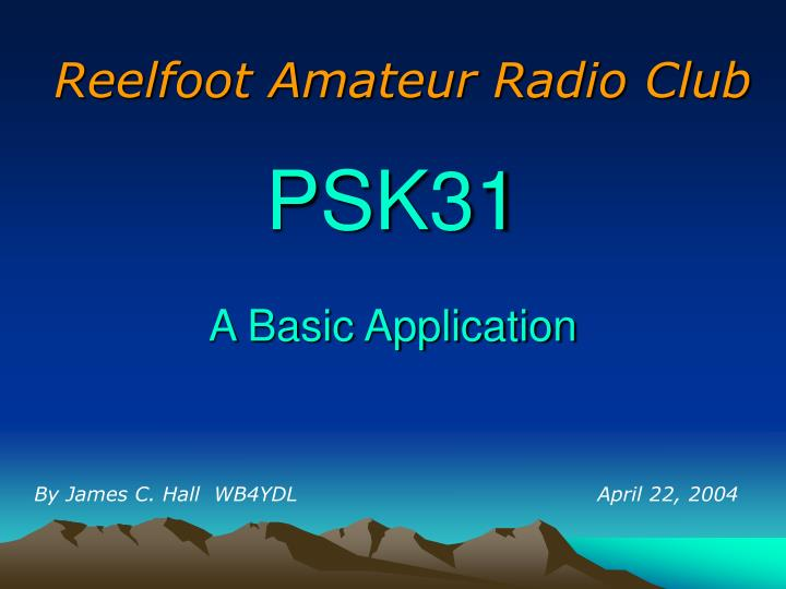 Reelfoot Amateur Radio Club