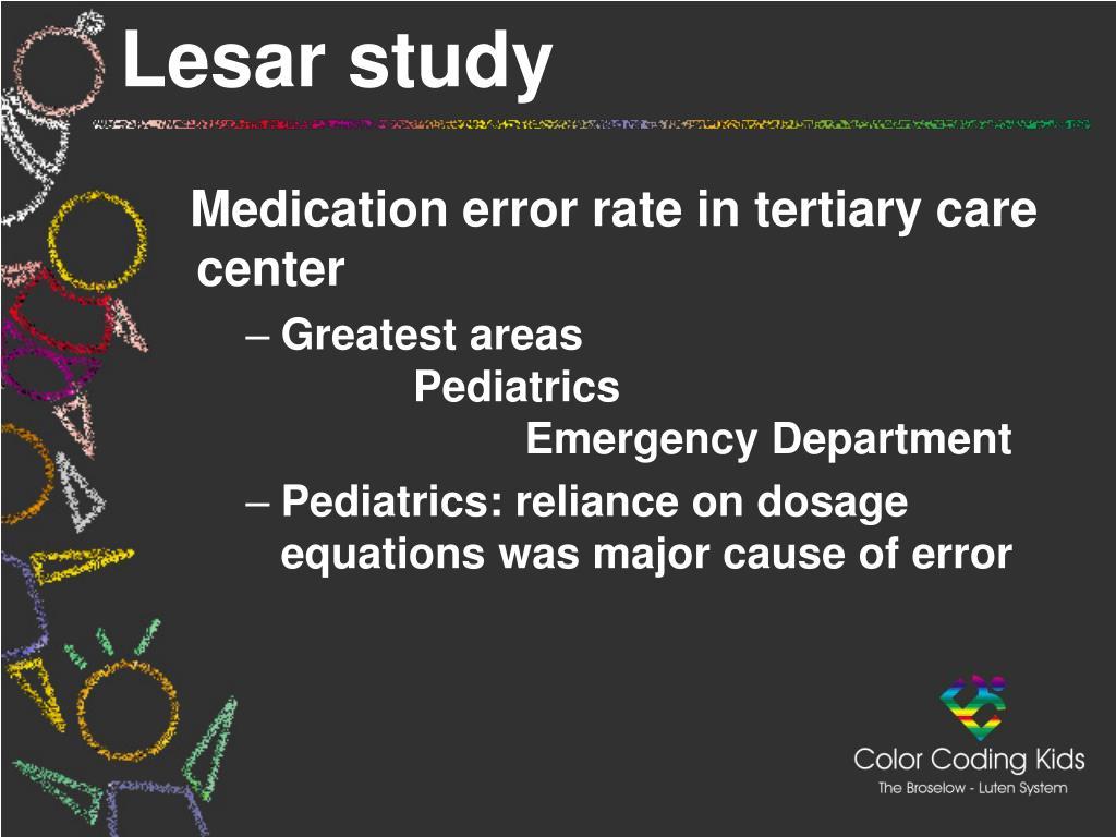 Lesar study