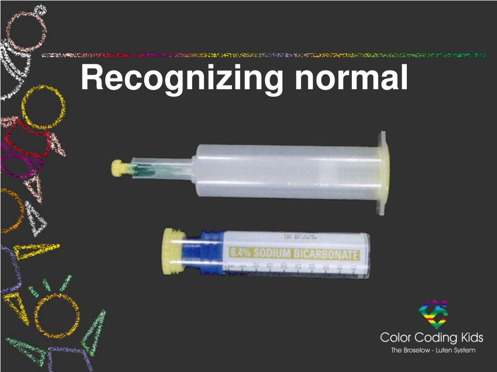 Recognizing normal
